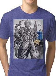 The Third Doctor Tri-blend T-Shirt