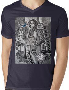 The Eighth Doctor Mens V-Neck T-Shirt