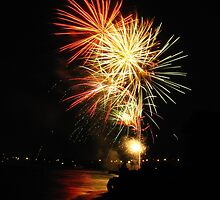 Celebration - Lake Huron, July 4th by welchko