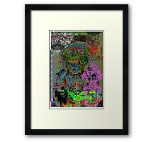 boy meets girl Framed Print