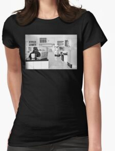 J.R. Died Womens Fitted T-Shirt