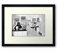J.R. Died Framed Print