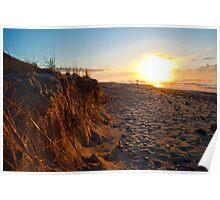 Sunrise dunes Poster