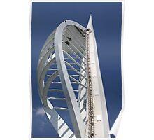 Spinaker Tower, Porstmouth Poster