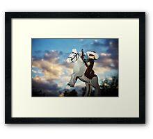 Hi Ho Silver Away! Framed Print