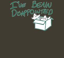 Benn Disappointed Womens Fitted T-Shirt