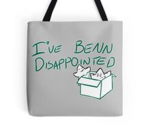 Benn Disappointed Tote Bag