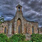 Lindisfarne Church (HDR) by Ryan Davison Crisp