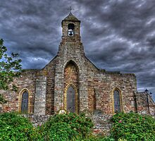 Lindisfarne Church (HDR) by Ryan Davison Crisp