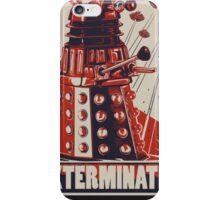 Exterminate Dalek iPhone Case/Skin