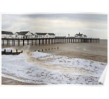 Southwold pier Poster