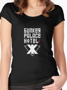 BUNKER PALACE HOTEL Women's Fitted Scoop T-Shirt