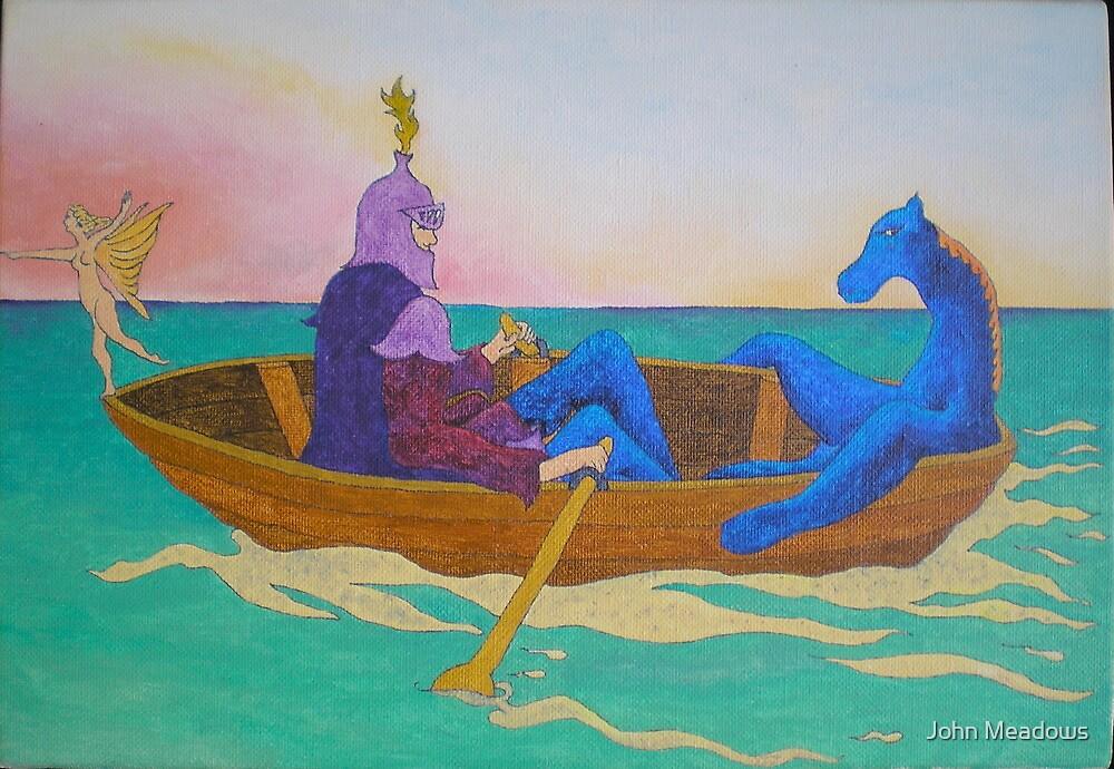 La barque  by John Meadows