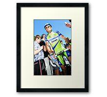 Ivan Basso Framed Print