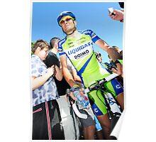 Ivan Basso Poster
