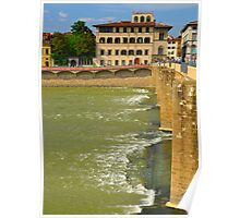 Arno River Quay I Poster