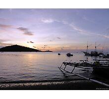 Tranquil Pemuteran bay at Sunset Photographic Print
