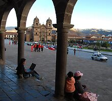 Cusco Collonade by natureboy1959