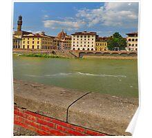 Arno River Quay II Poster