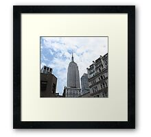 New York City Empire State Building Framed Print