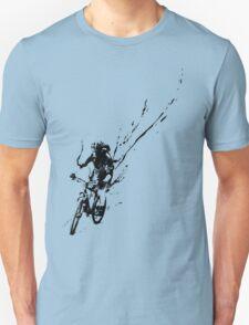 mountain bike splatter Unisex T-Shirt