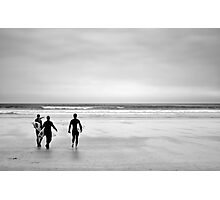 Go catch a wave Photographic Print