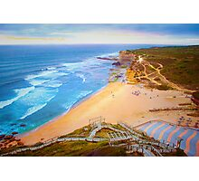 Ericeira beach july 2015 sunset Photographic Print