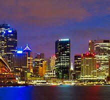 Sydney Opera House and CBD by Dev Wijewardane