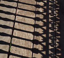 Shadow Railings - Captain Cook Museum, Cooktown by Fiona Allan Photography