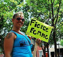 Fierce femme  by Jeff Stroud