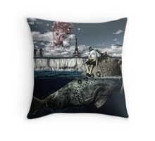 I am the Walrus Throw Pillow