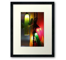 Festive Lights Framed Print