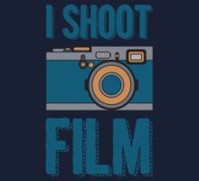 I Shoot Film - Vintage Camera Design Kids Clothes