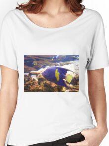 Purple yellowbar angelfish - Pomacanthus maculosus  Women's Relaxed Fit T-Shirt