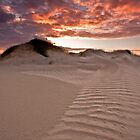Sandy Sunset by Alistair Wilson