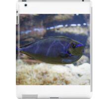Naso vlamingii fish iPad Case/Skin