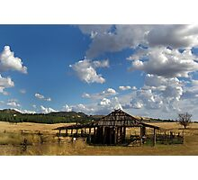 OXLEY HOUSE SHEARING SHED Photographic Print