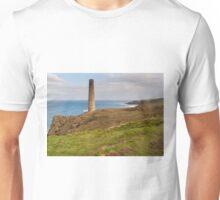 Historical coastline of cornwall Levant Mine Unisex T-Shirt