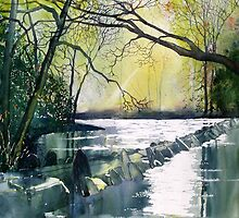 Tarr Steps, Exmoor by Glenn Marshall