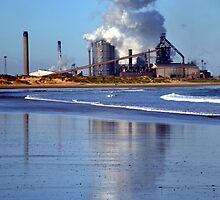 Steel works @ Redcar Cleveland uk by robwhitehead