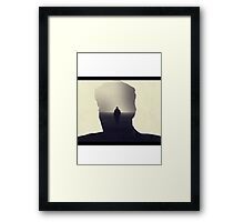 True Detective opening theme shot  Framed Print