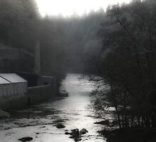 Old Lanark Mill by mikekane