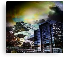 Mountain City Canvas Print