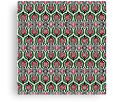 Ethnic Floral Pattern Canvas Print