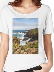 Historical coastline of beautiful cornwall Women's Relaxed Fit T-Shirt