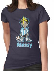 Messy Womens Fitted T-Shirt