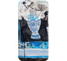 Flowers and Fabric one iPhone Case/Skin