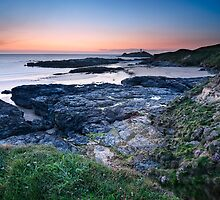 Cornwall - Godrevy last Light by Michael Breitung