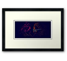 Cophine + Touch Framed Print