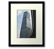 Shanghai skyscraper Framed Print